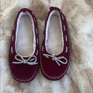 LL Bean slippers moccasins